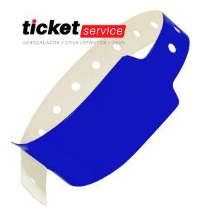 kék csuklópánt