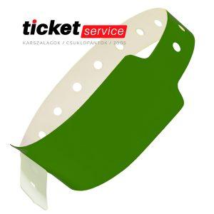 zöld csuklópánt