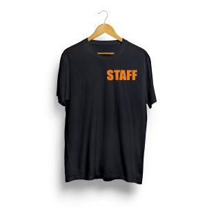 staff fekete póló